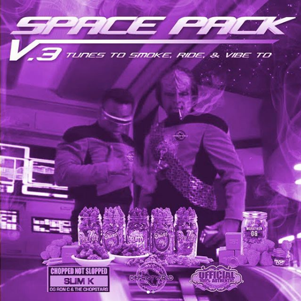 Spacepak Vol. 3 Presented by DffrntWrld and Slim K is out!