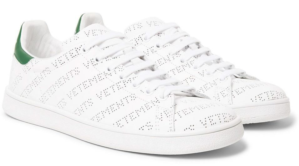 New Vetements Perforated Logo Sneakers