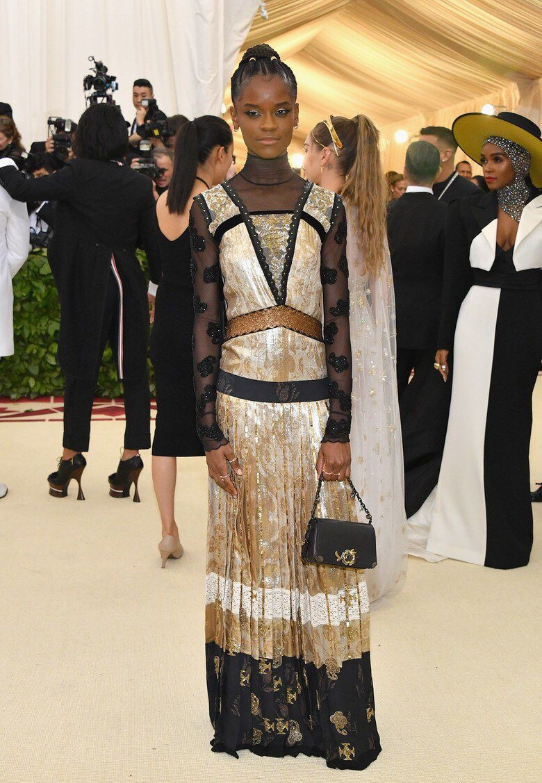 Letitia Wright Had The Most Lit Instagram Feed At The Met Gala