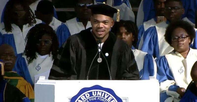 Chance The Rapper Deliver A Commencement Speech and Receives an Honorary Doctorate from Dillard University