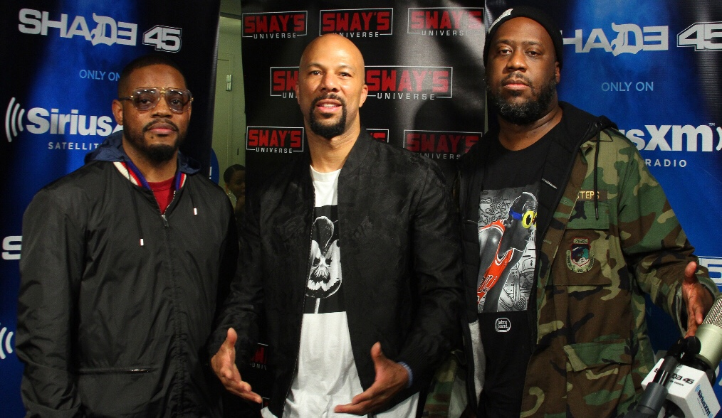 Common, Robert Glasper and Karriem Riggins (August Greene) Talk new Album, Kanye West + Freestyle