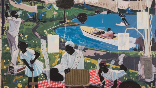 Diddy Dropped $21 Ms On This Piece Of Art By Kerry James Marshall