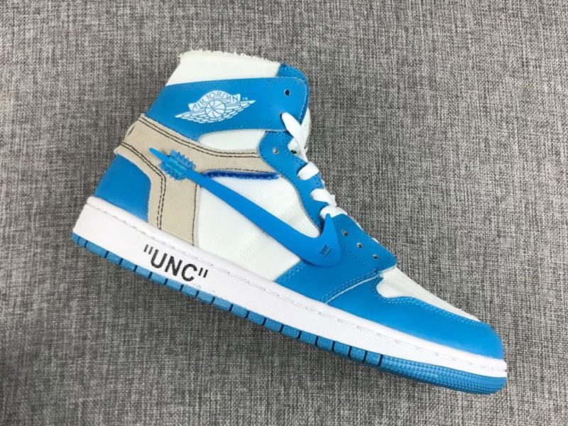 "Off White x Air Jordan 1 ""UNC"" Could Drop Next Month"