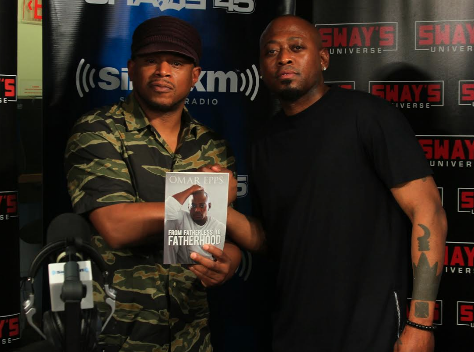 Omar Epps Talks About New Book 'From Fatherless To Fatherhood'
