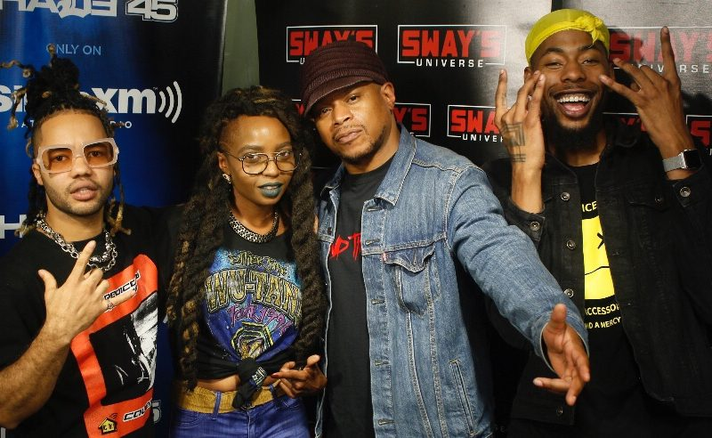 Friday Fire Cypher: LaJune and Rikki Blu Spit Over Powers Pleasant Beats