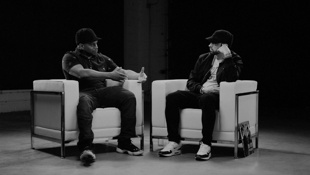 Eminem x Sway – The Kamikaze Interview