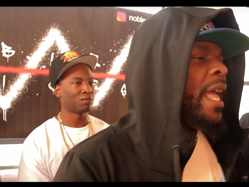 Top Boss Trav Comes Through To Cypher of All Cyphers And Catches A Body
