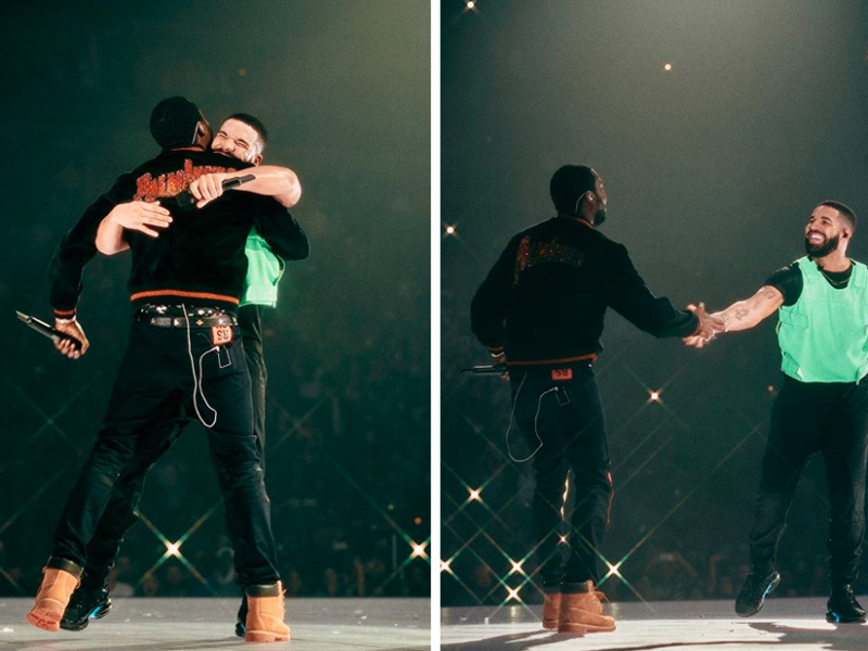 Meek Mill and Drake Reconcile and Shut Down Boston