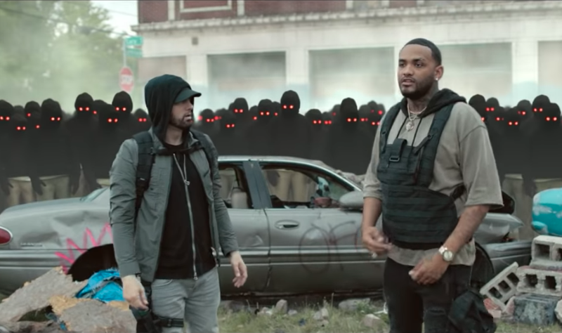"Watch Eminem's Video for ""Lucky You"" Featuring Joyner Lucas"