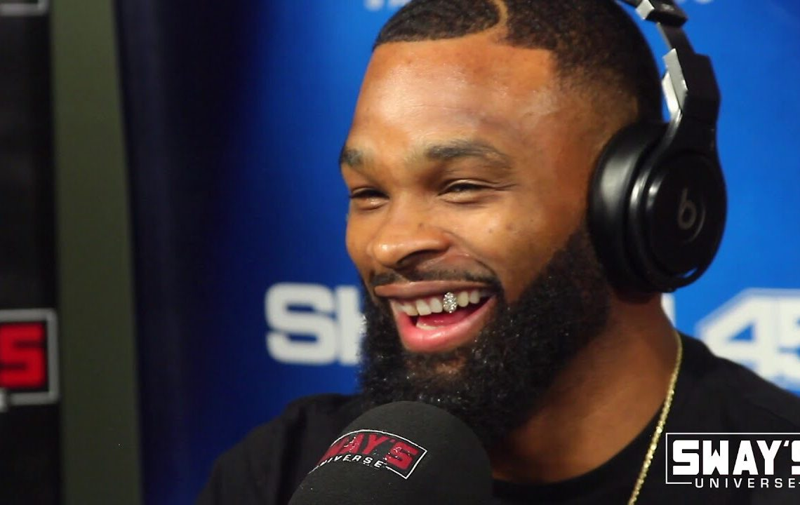 """UFC Champ Tyron Woodley Debuts New Song """"Beat Yo Ass"""" Featuring Wiz Khalifa and Speaks on Controversy with Dana White"""