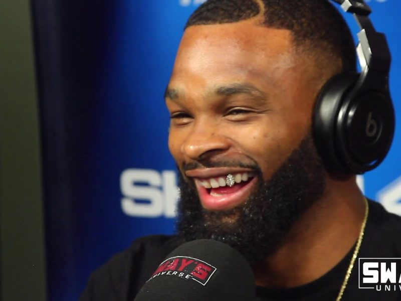 "UFC Champ Tyron Woodley Debuts New Song ""Beat Yo Ass"" Featuring Wiz Khalifa and Speaks on Controversy with Dana White"