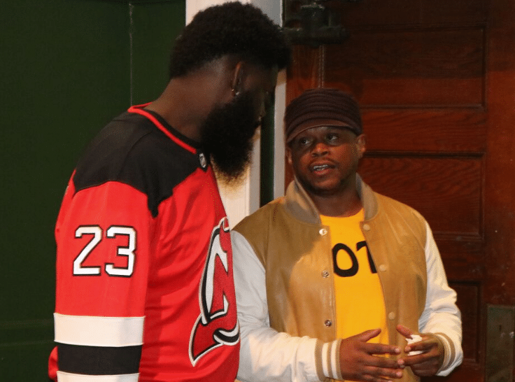 Treach and Chad B Join Sway In The Morning Live Broadcast from West Side High School