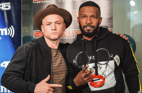 Jamie Foxx and Taron Egerton Talk New 'Robin Hood' Movie
