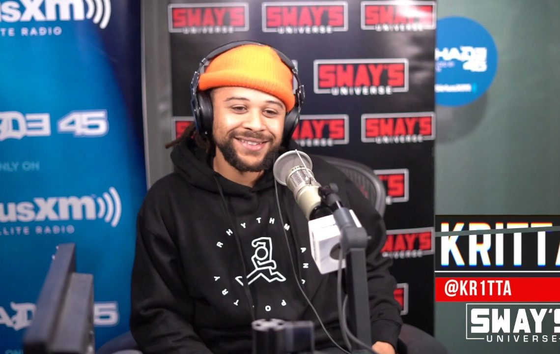 Kritta Freestyles on Sway In The Morning and Talks New EP 'R.A.P.'
