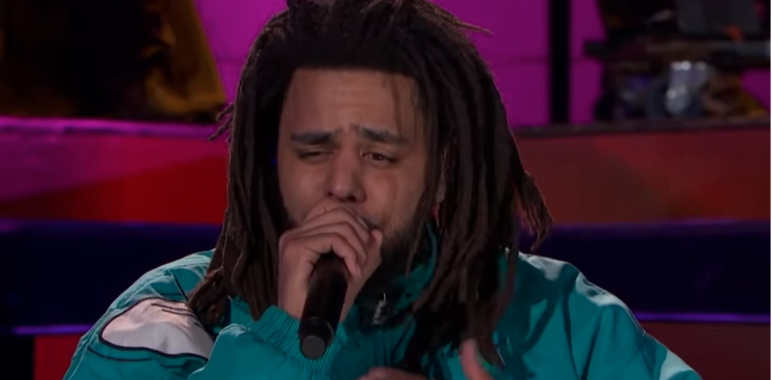 J.Cole Performed at Half Time of the 2019 NBA All-Star Game
