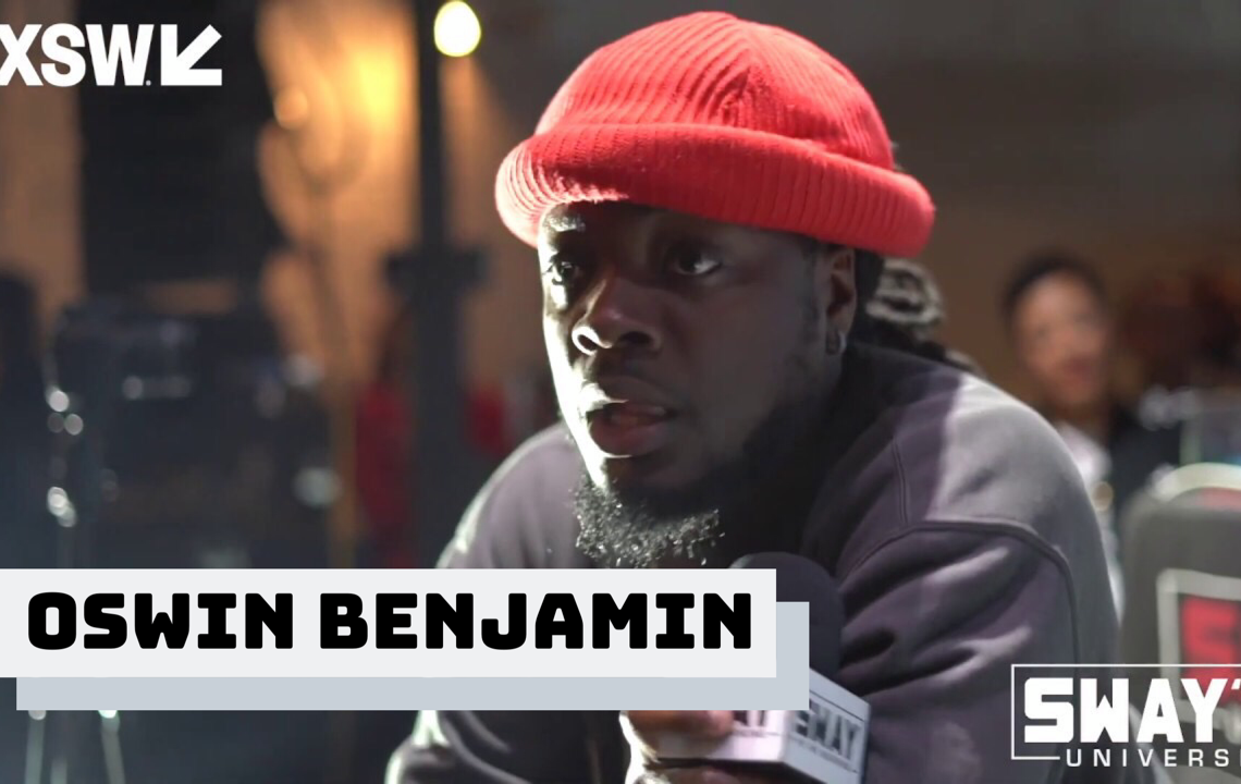 "Oswin Benjamin Performs ""Olive Oil"" on Sway In The Morning at SXSW"