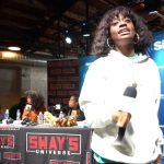 NLE Choppa and Kari Faux Perform Live on Sway In The Morning at SXSW