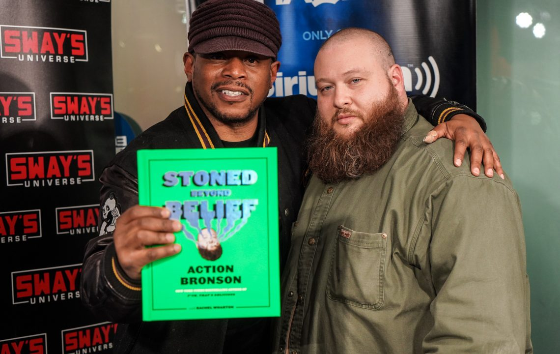 "Action Bronson Talks New Book ""Stoned Beyond Belief"""