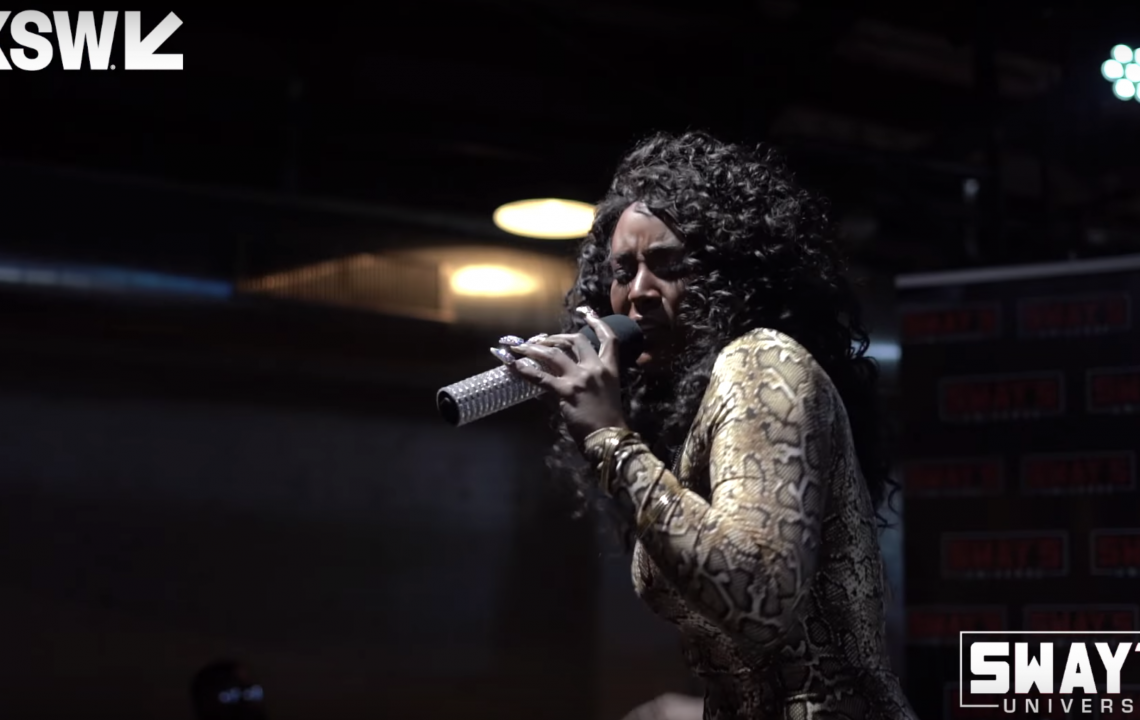 Amara La Negra Performs Live on Sway In The Morning at SXSW