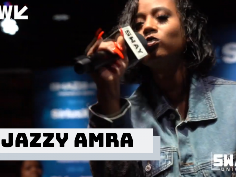 Jazzy Amra Performs Live on Sway in the Morning at SXSW