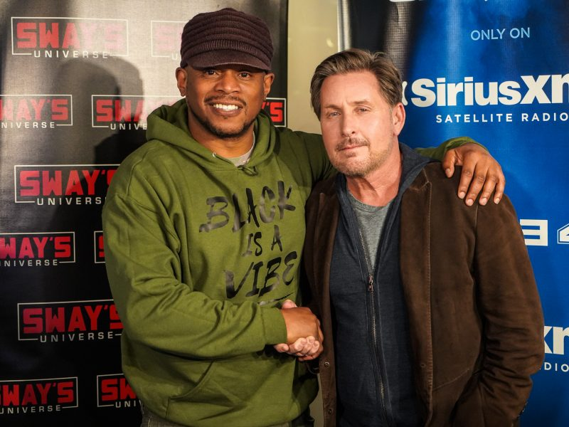 "Emilio Estevez Shares Stories of Growing Up Poor & New Film ""The Public"""