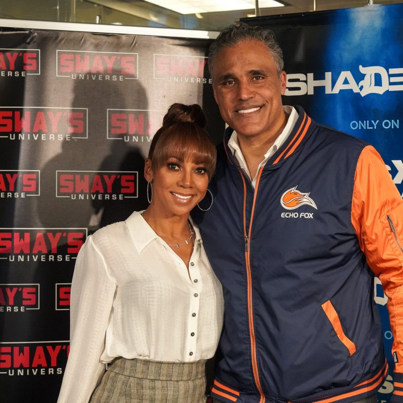 """Holly Robinson Peete & Rick Fox on """"Morning Show Mysteries"""" & Insight on Magic Johnson Resigning from Lakers"""