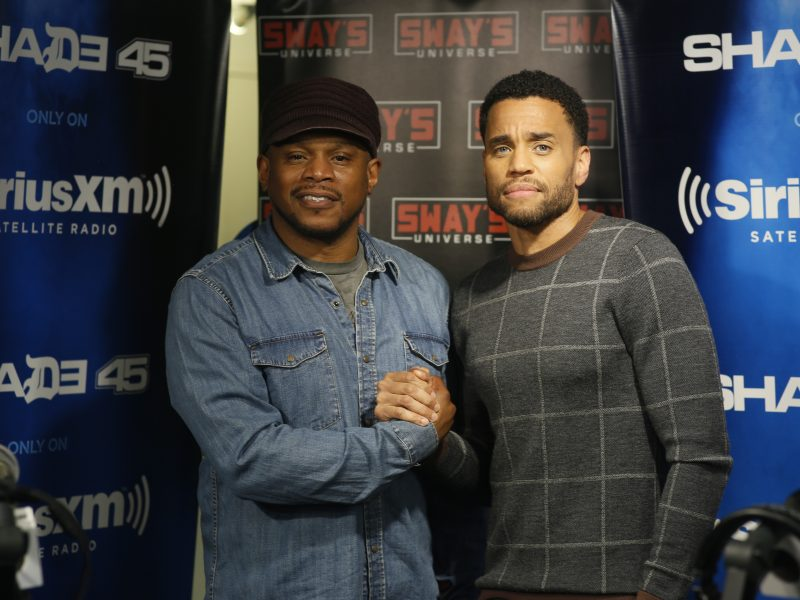 "Michael Ealy Tells Hilarious Sex Scene Story & Talks New ""The Intruder"" Movie"