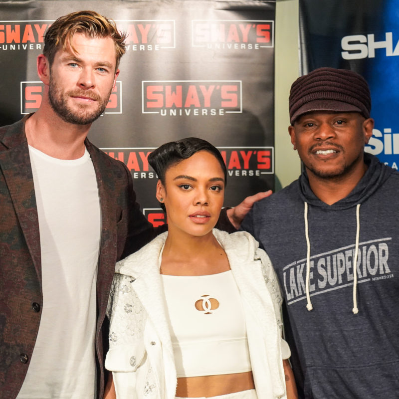 Chris Hemsworth and Tessa Thompson From Avengers End Game to MIB International