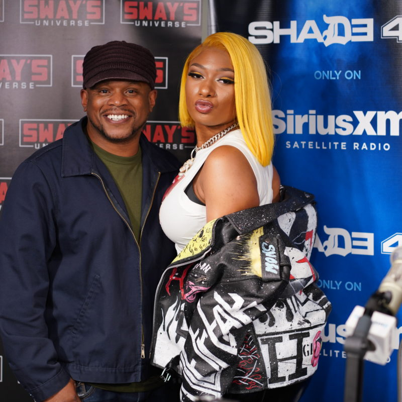 Megan Thee Stallion Goes Live To Talk  About Her Injuries