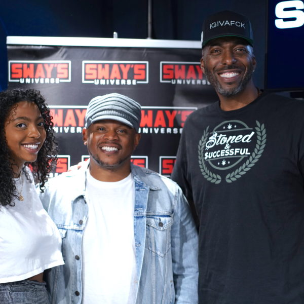 Boogie Dropped Off Some Bars on Sway In The Morning LA Week