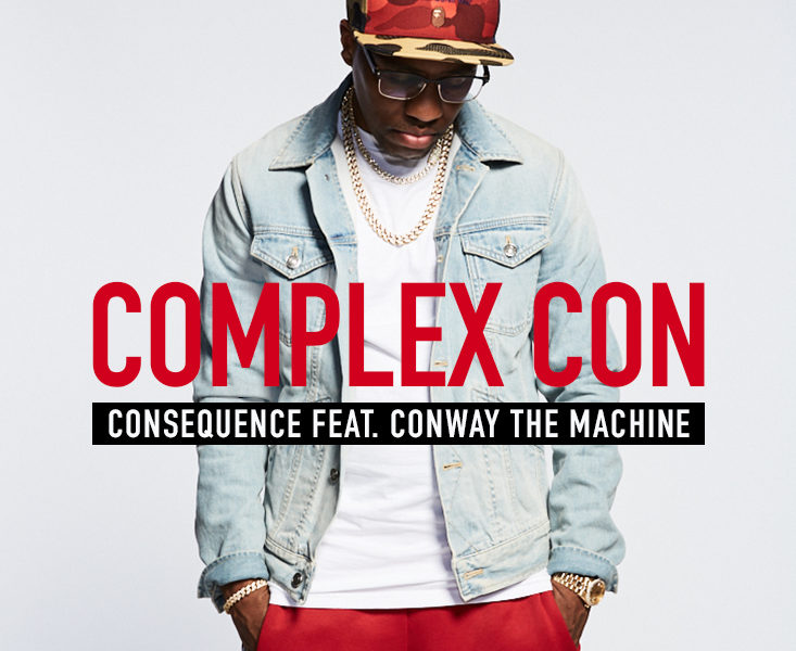 "Exclusive: Consequence Links Up With Conway The Machine on ""Complex Con"""