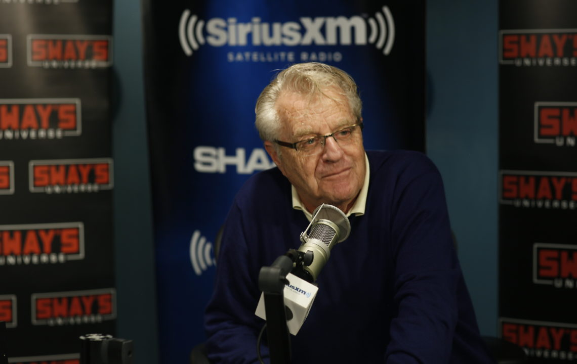 """Jerry Springer Gives Legal Advice to Citizens and Talks New Show """"Judge Jerry"""""""