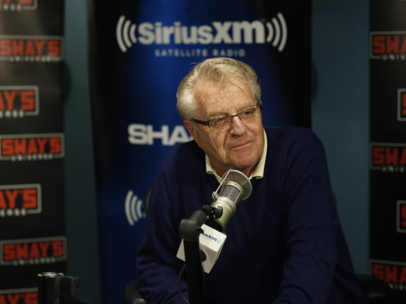 "Jerry Springer Gives Legal Advice to Citizens and Talks New Show ""Judge Jerry"""