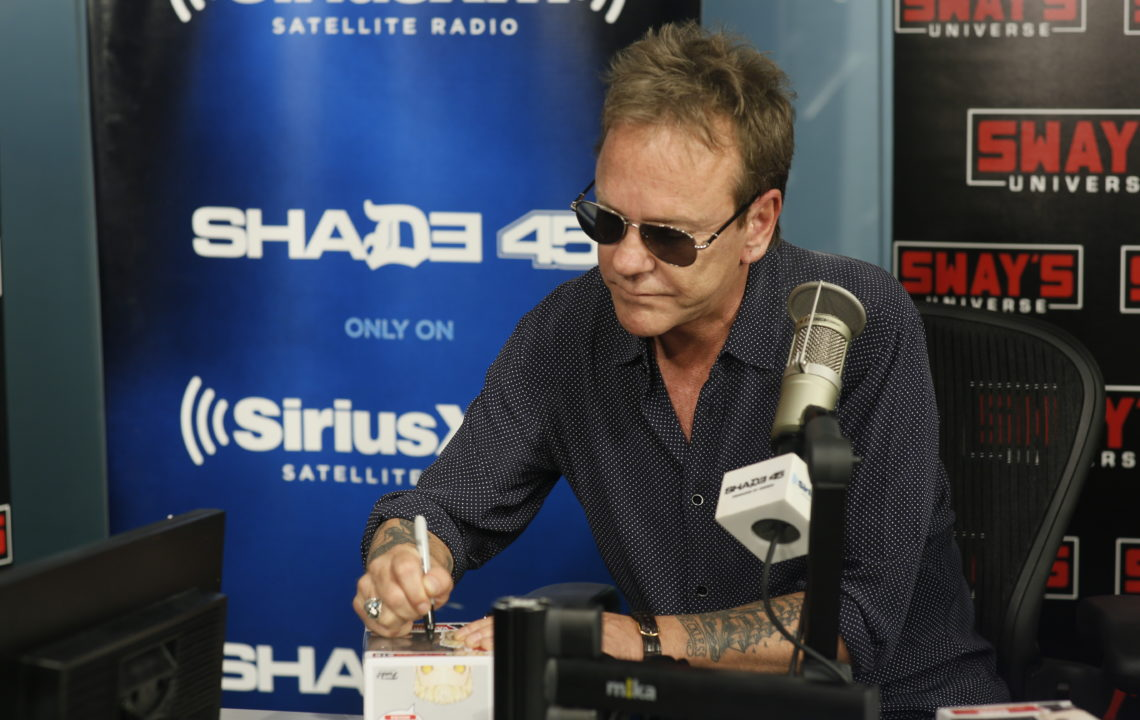 """Kiefer Sutherland Reflects on His Classic Movies + Talks New Album """"Reckless & Me"""""""