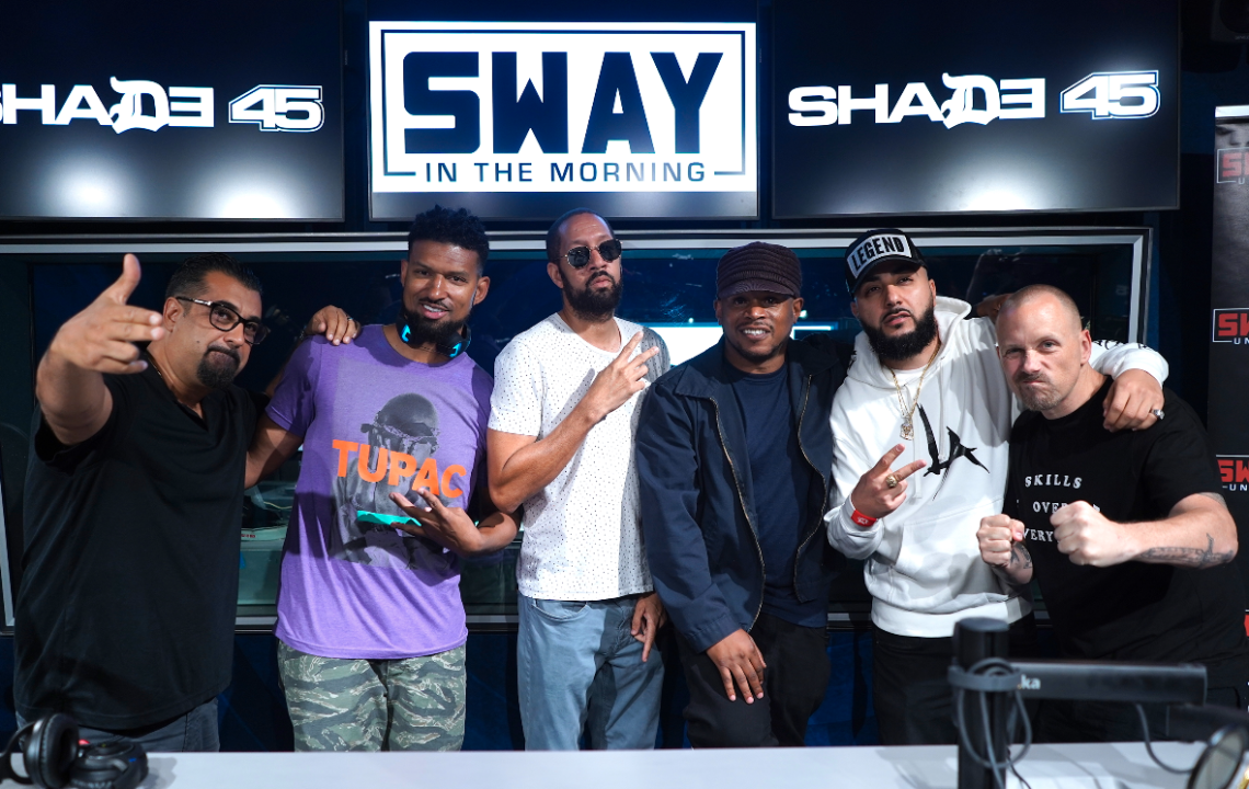 Wake Up Show Reunion In LA on Sway In The Morning