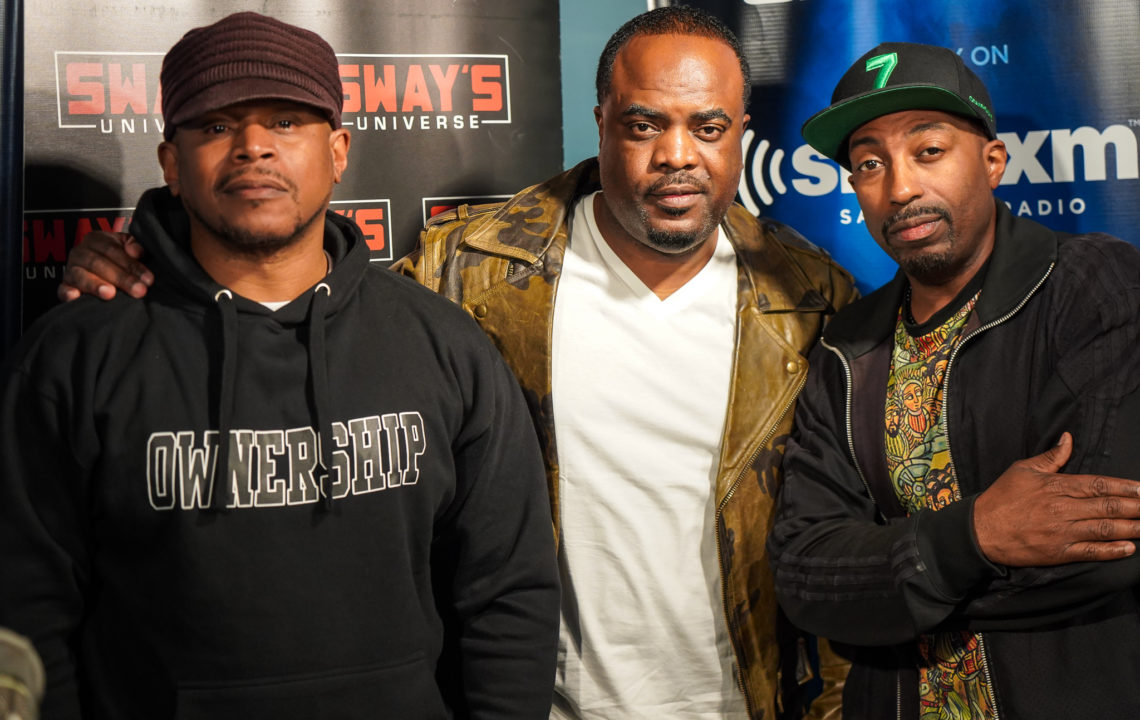 "The Creator Behind ""The God Father of Harlem"" Markuann Smith Visits Sway in the Morning"