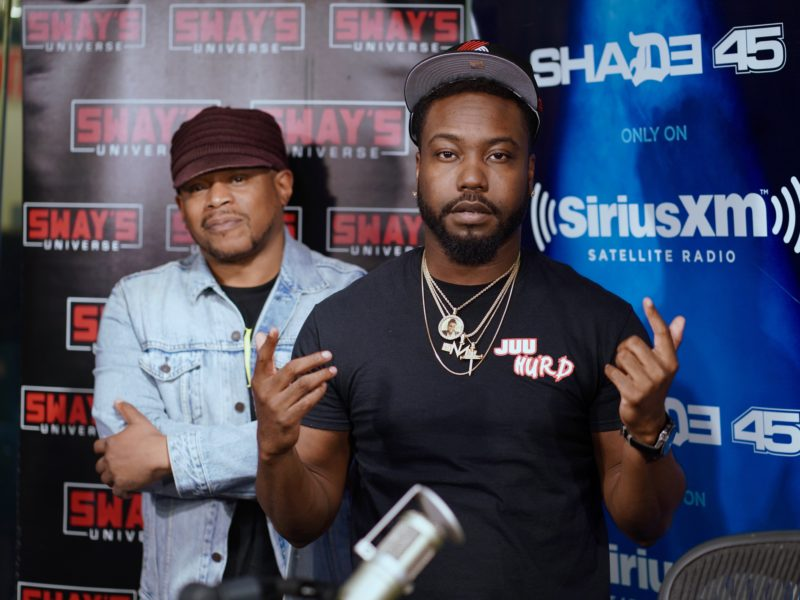 Nino Man Drops Fire Freestyle on Sway in the Morning