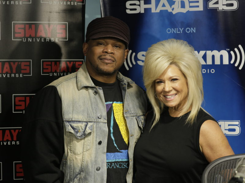 'Long Island Medium' Theresa Caputo Reads Sway in the Morning