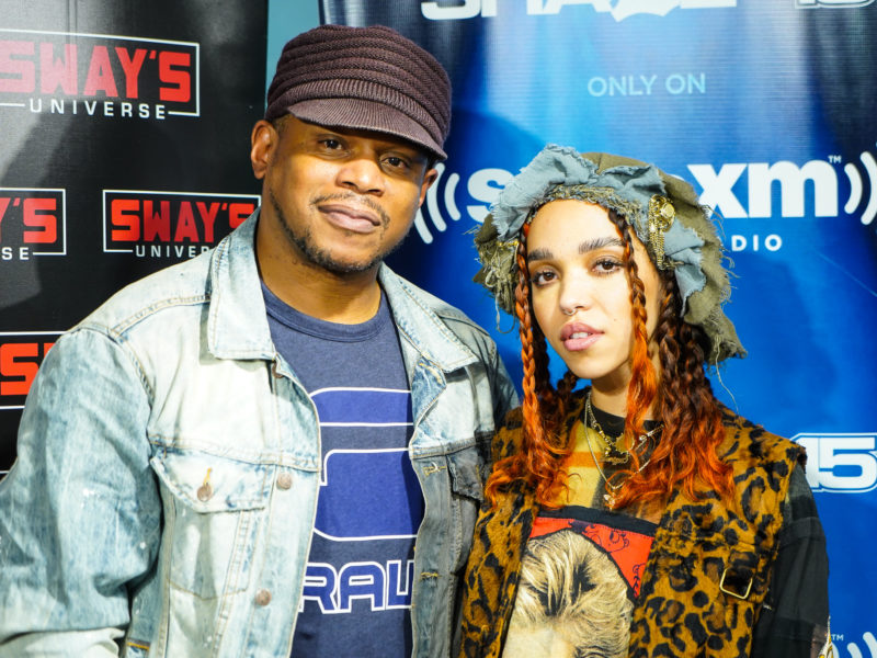 FKA Twigs Talks New Album 'Magdalene' on Sway In The Morning