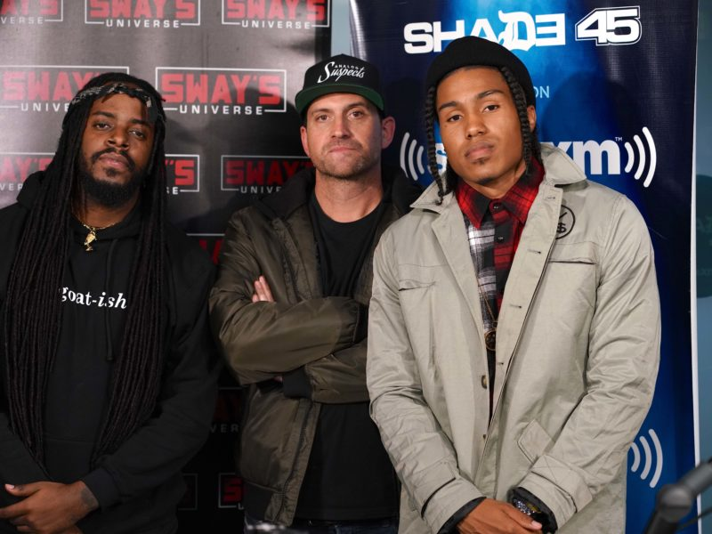 Friday Fire Cypher: AJ McQueen and King Hoodie Go In on DJ Mentos Beats