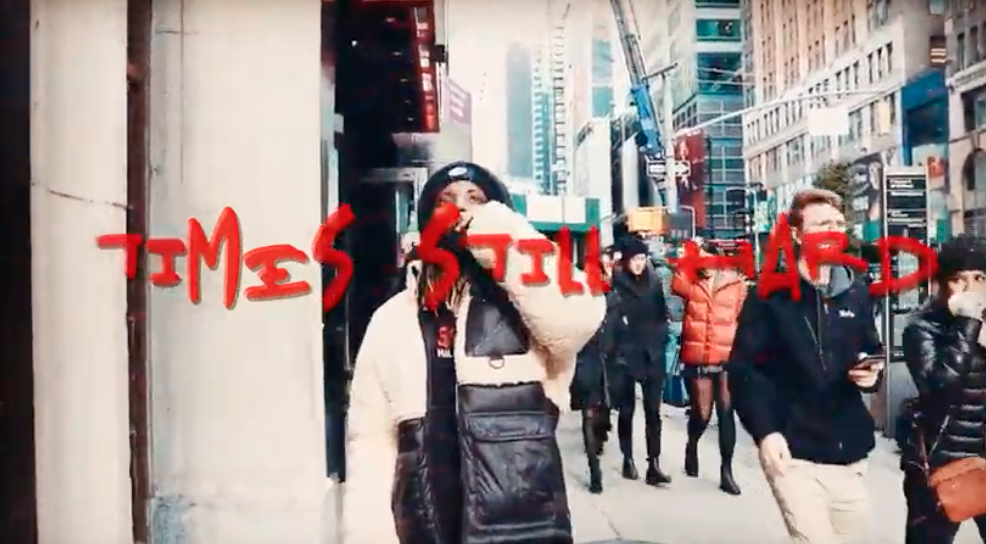 "Yung Knxw Takes To NYC For ""Times Still Hard"" Video"