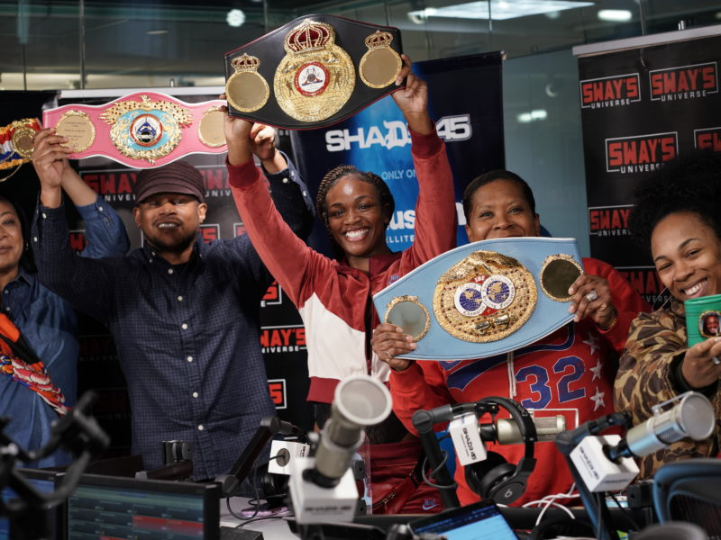 Claressa Shields Says She Is The GWOAT And Speaks On Assault At Weigh In