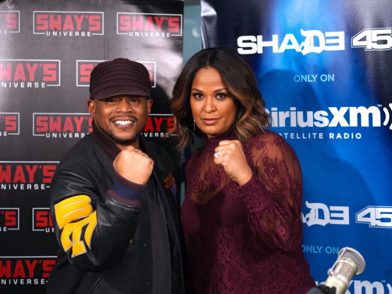 Laila Ali Shares Wisdom From Father Muhammad Ali, Responds to Claressa Shields + Talks New Show