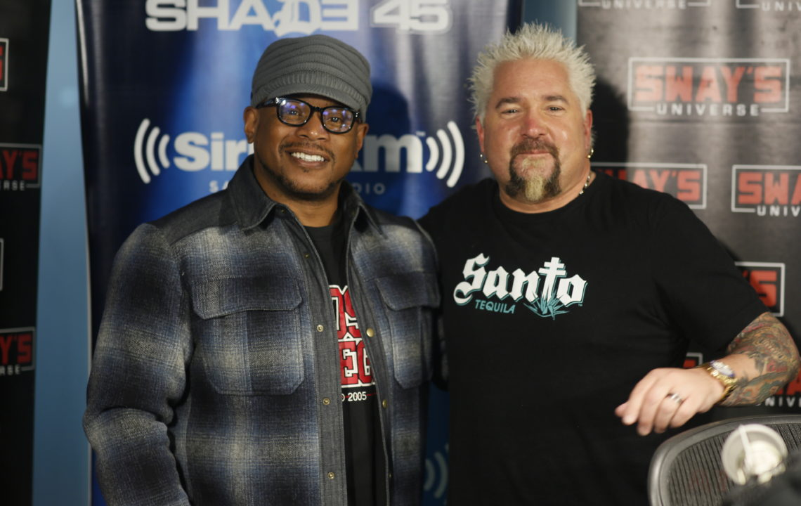 Guy Fieri Gives Tips on Starting a Restaurant + Talks New Tournament of Champions Cooking Show