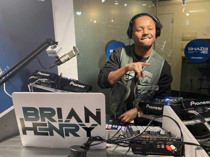 DJ Brian Henry Sway In The Morning Xix