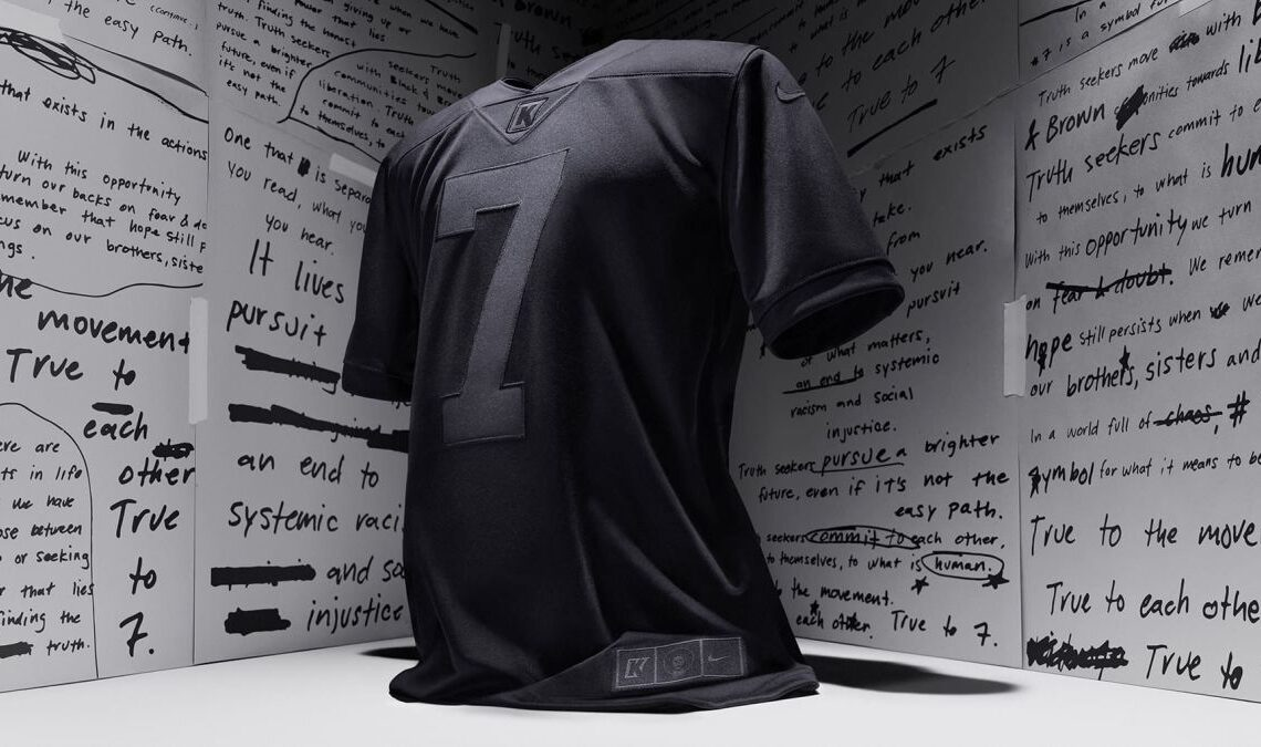Colin Kaepernick's Triple Black Jersey Sells Out In Under A Minute