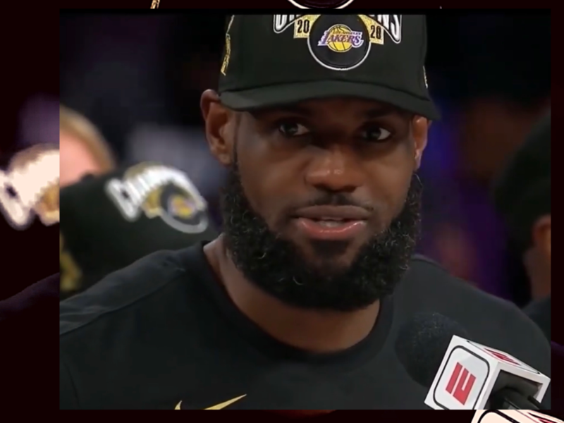 Lebron James Wins Championship, MVP Award and Speaks Against Injustice