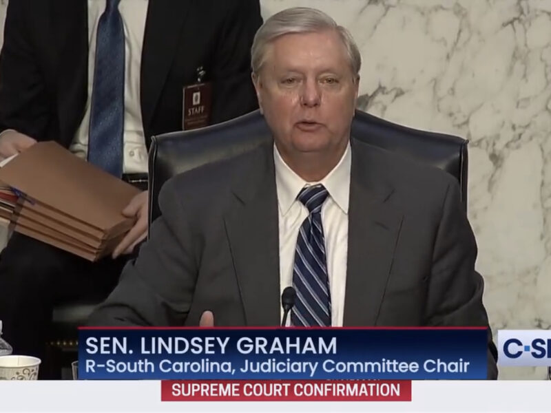 "SC Senator Lindsey Graham referred to segregation as ""the good old days"