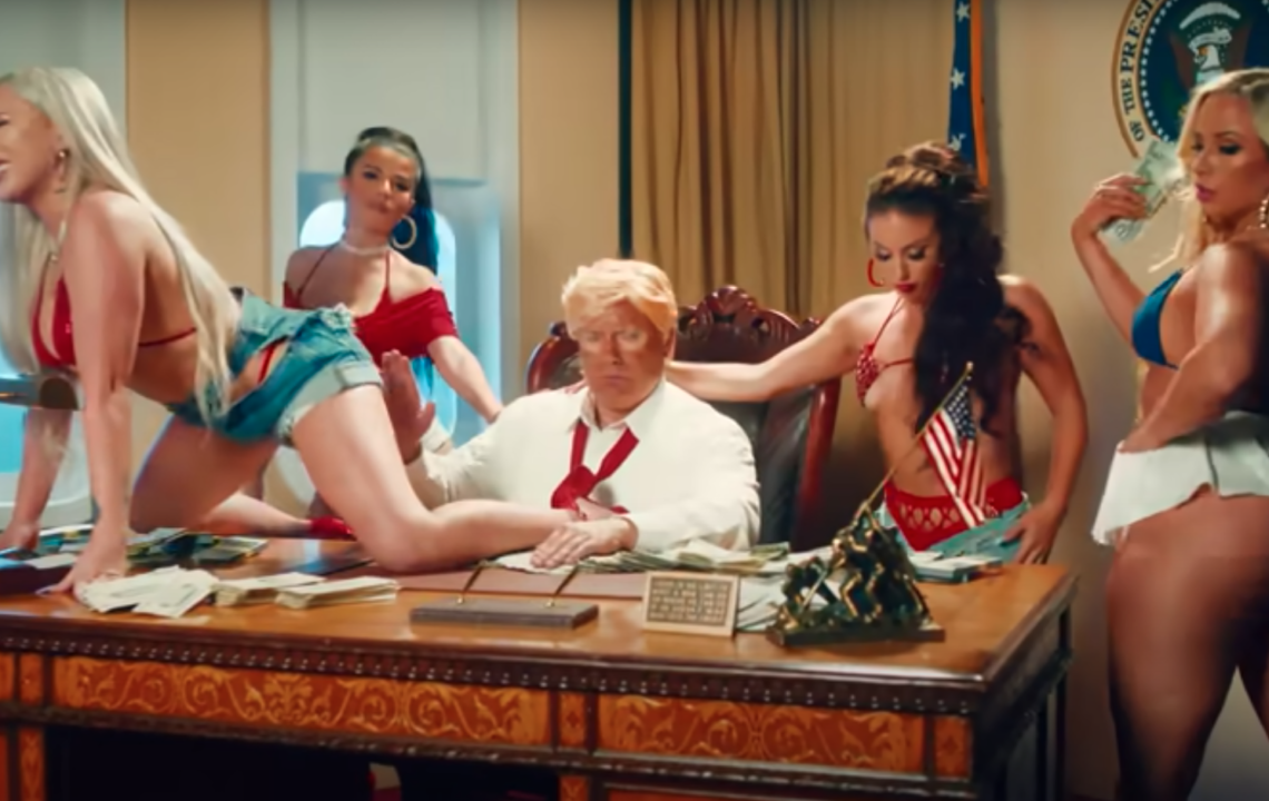 "YG clowns Donald Trump In New Video ""Jealous"""