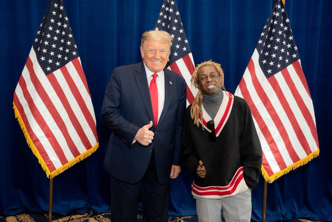 Lil Wayne Visits Donald Trump In The White House and Twitter Reacts
